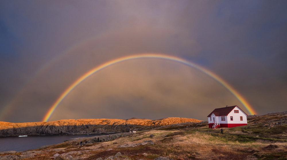 Quirpon Island Rainbow