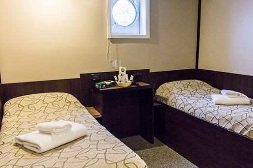Standard Plus Twin Cabin, Private Facilities