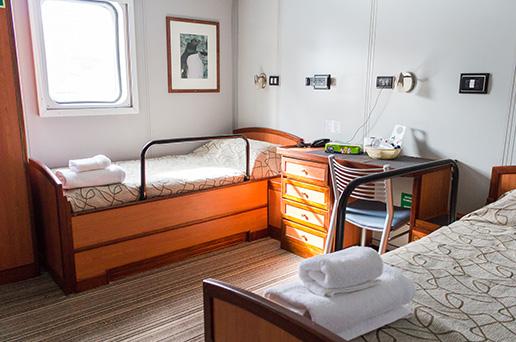 Superior Twin Cabin, Private Facilities
