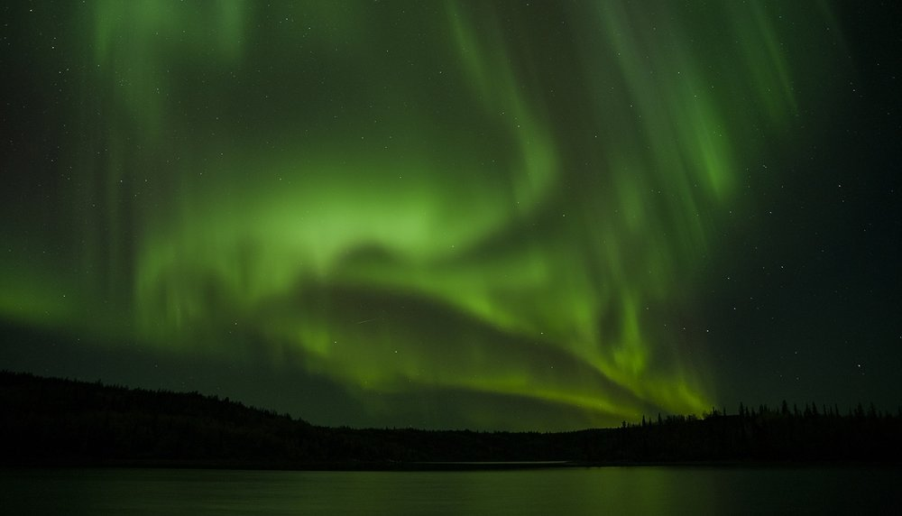 Aurora in the Yukon