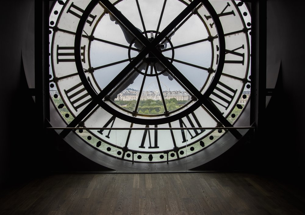 The clock face at Musee D'orsay
