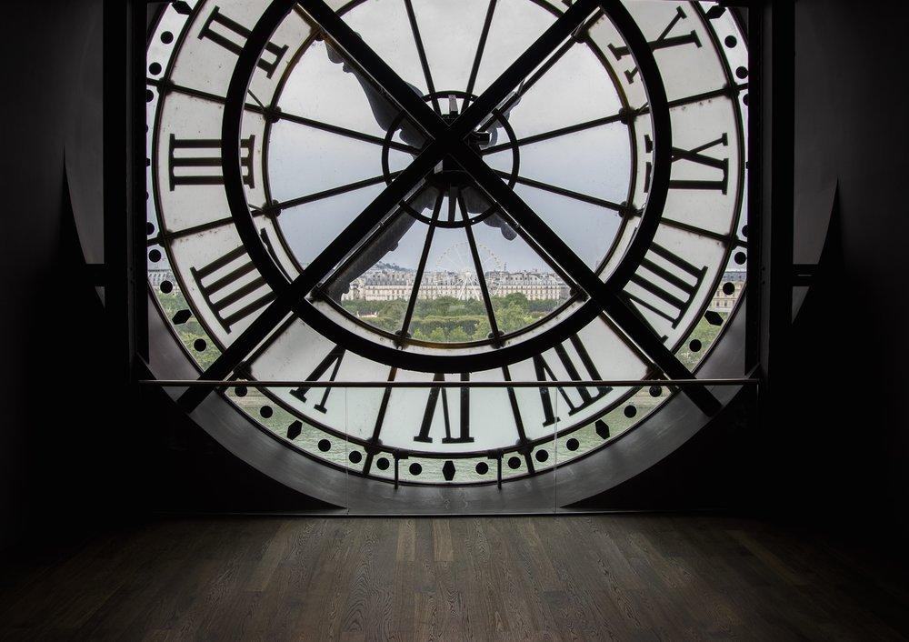 The clock face at Musee D'orsay