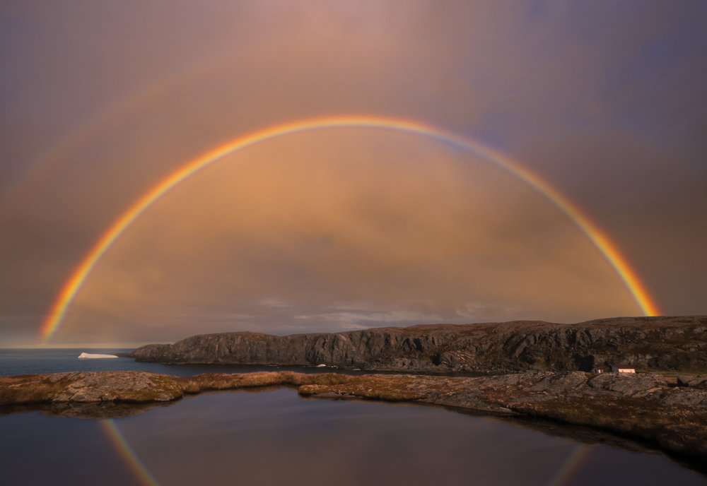 rainbow reflection at quirpon for web.jpg