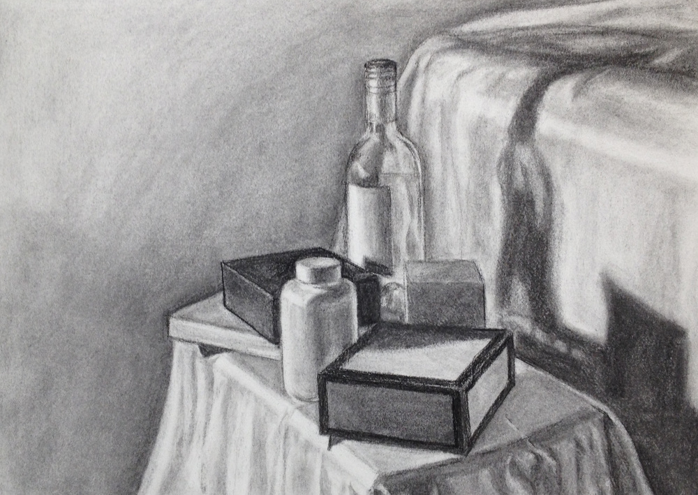 Black & White Still Life by Nancy Williams
