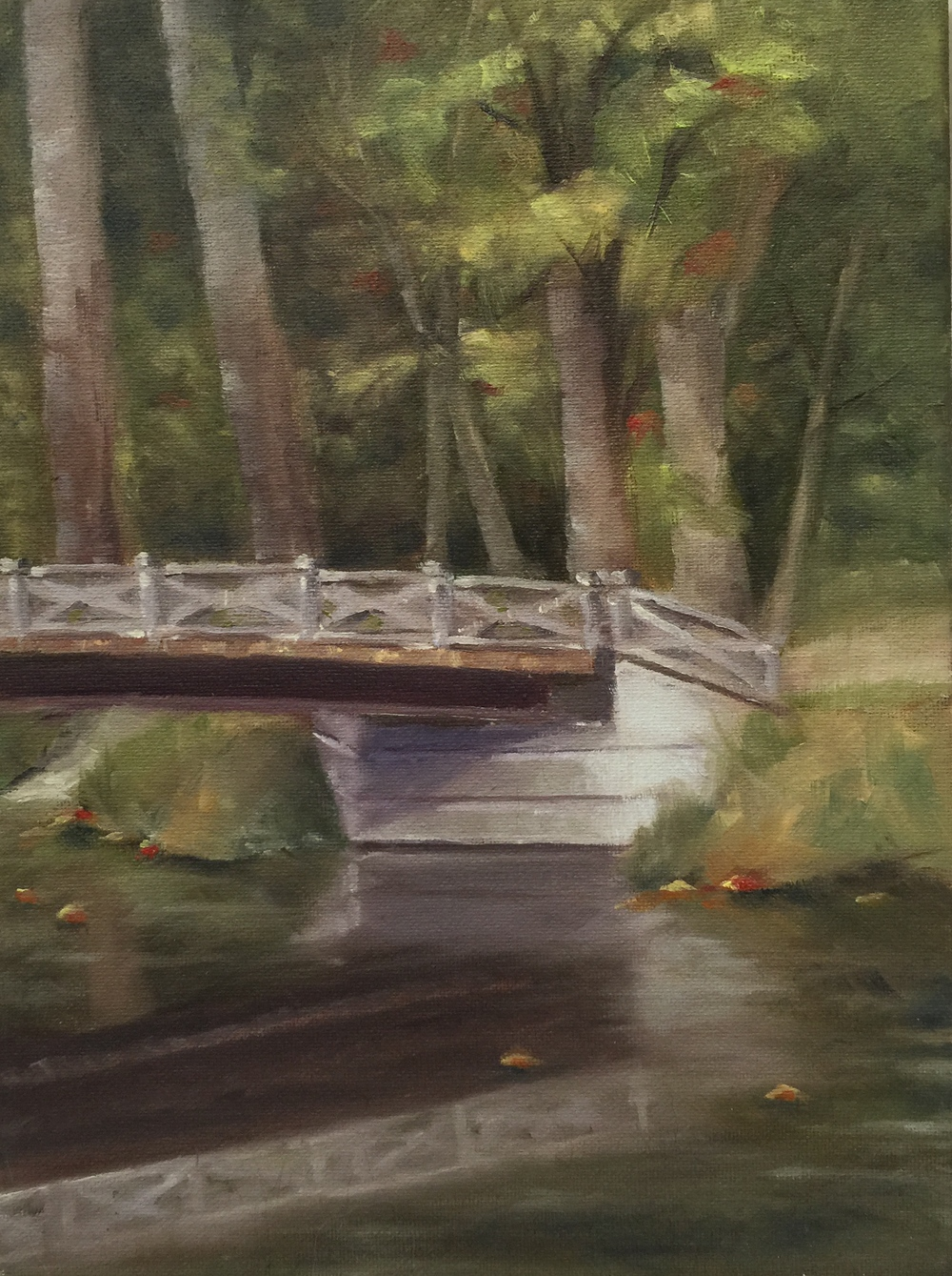 Landscape Painting by Elise Mahaffie