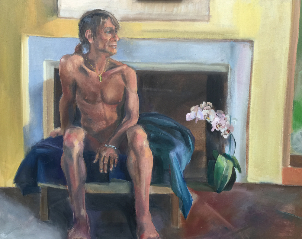 Figure Painting by Cathy Abramson