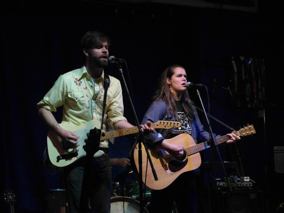 Tim Buckley (left) and Mariel Buckley (right) play together