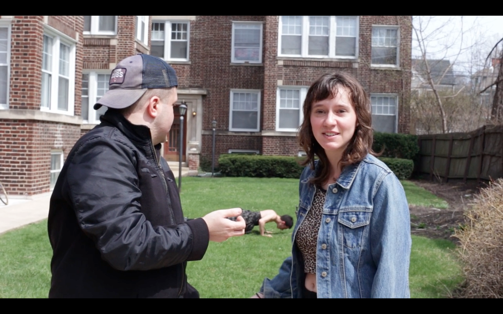 Still from from   Friends Who Like Nickelback  , a short film Allison wrote, directed, and acted in for the University of Chicago's recent 48 Hour Film Festival.