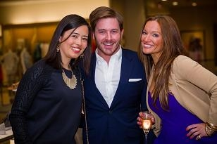 St. Louis Magazine and Neiman Marcus Welcome Style editor Helene Sayad. Emily Koplar, Jacob Laws, Ali Graeff