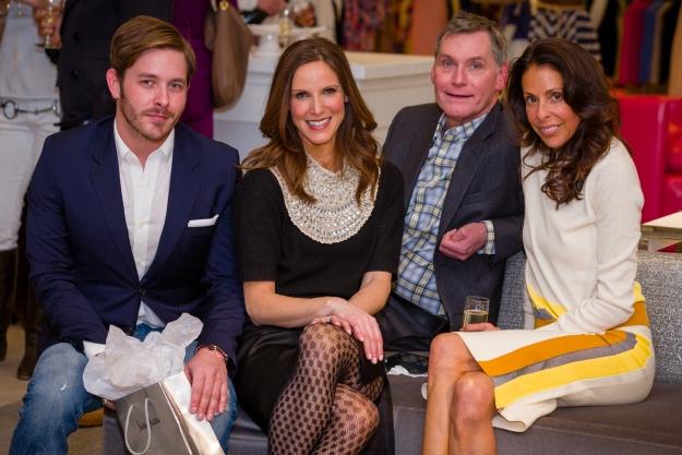 St. Louis Magazine and Nieman Marcus Welcome Style Editor Helene Sayad. Jacob Laws, Cheresse Pentella, Jimmy Jamieson, Helene Sayad