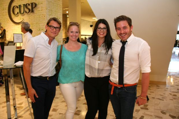 St. Louis Fashion Fund Launch, Neiman Marcus. Jonathan Diel, Hollie Hollensbe, Nikki Decher, Jacob Laws