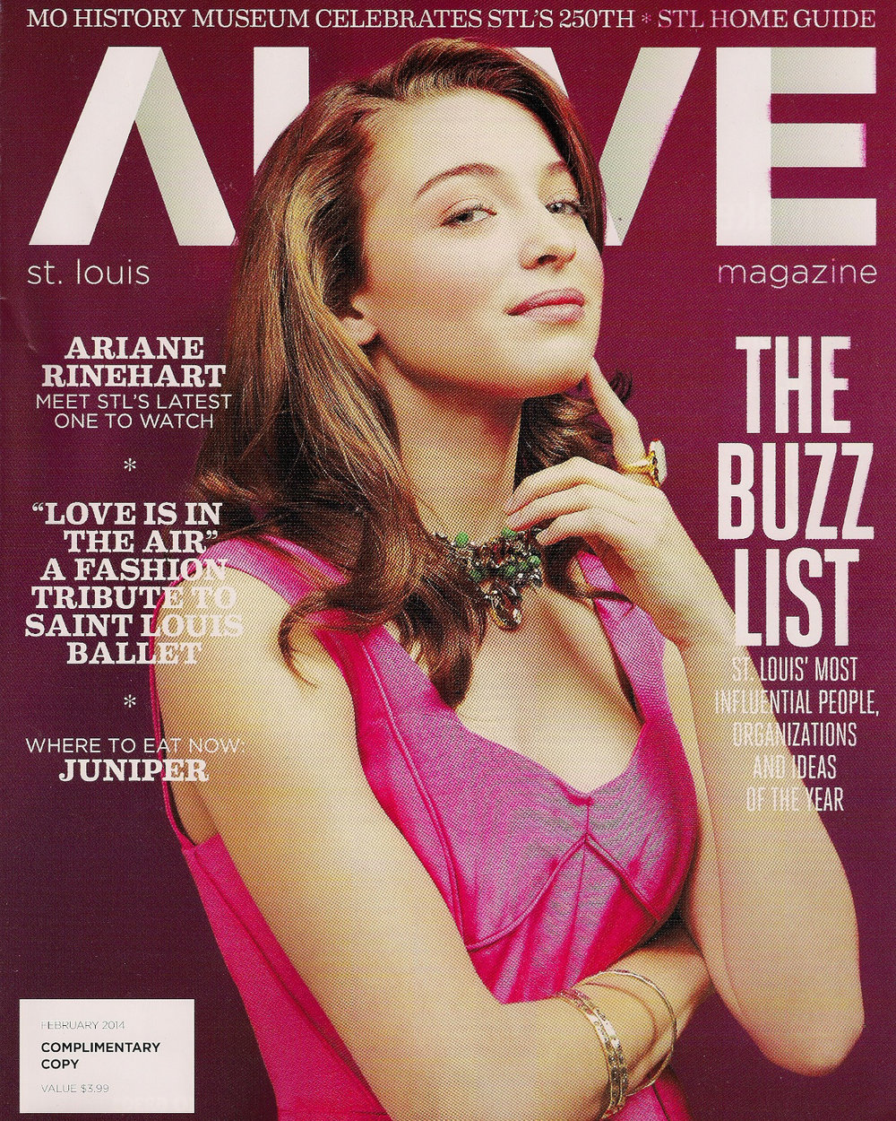 ALIVE // February 2014 -