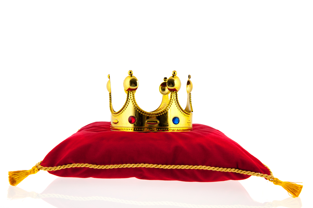 Which pillow shall be crowned in glory?