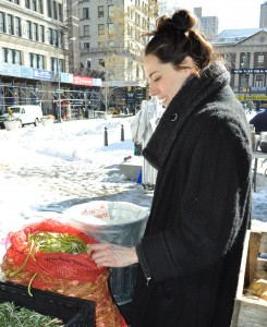 Ali Walter Winter Greenmarket