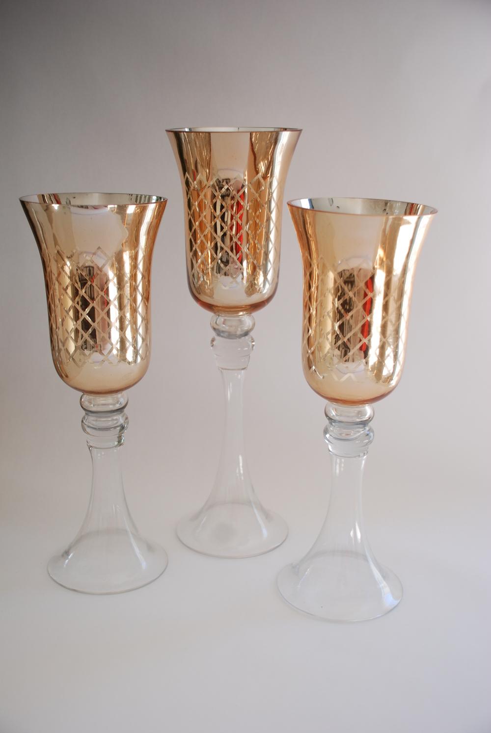 Glass Hurricane Vase Decoration Ideas