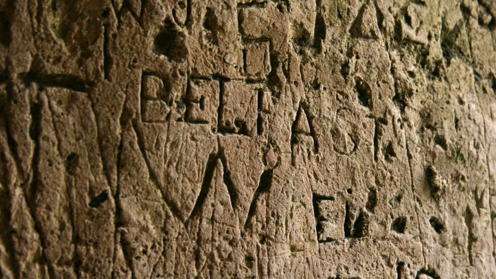 Graffiti at Blarney Castle
