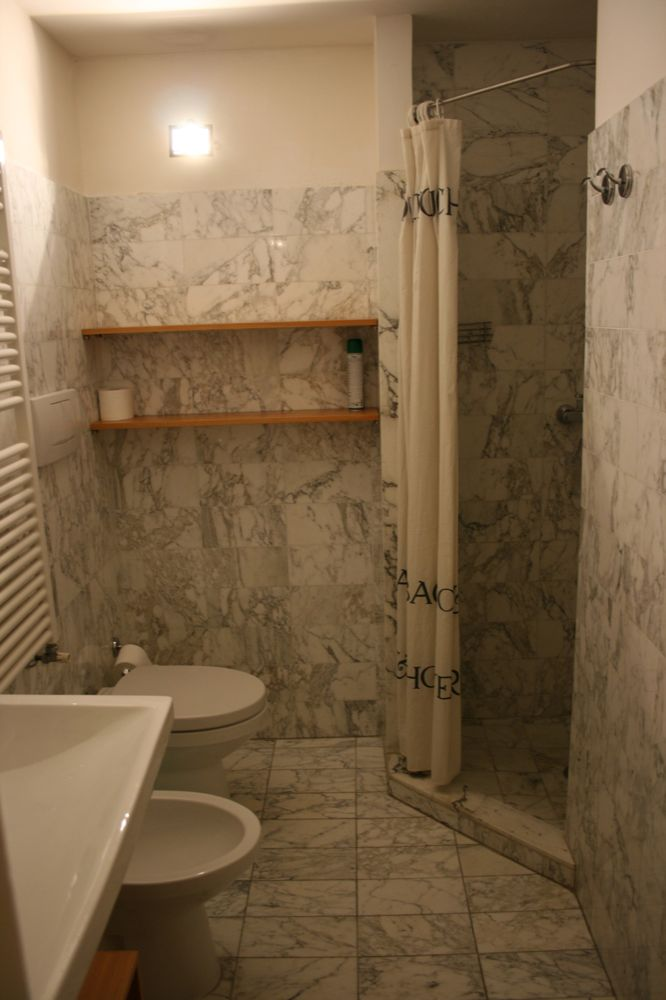 One Bathroom in the Magda Apartment