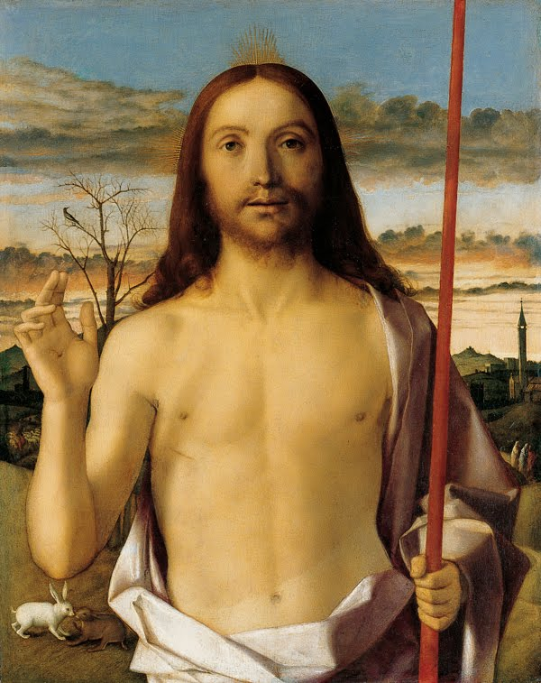 "Bellini's ""Risen Christ"""
