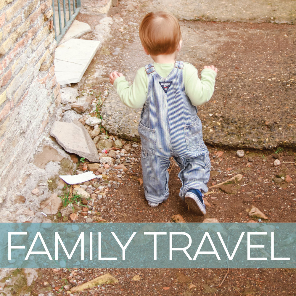 tips for taking children and teens to Italy
