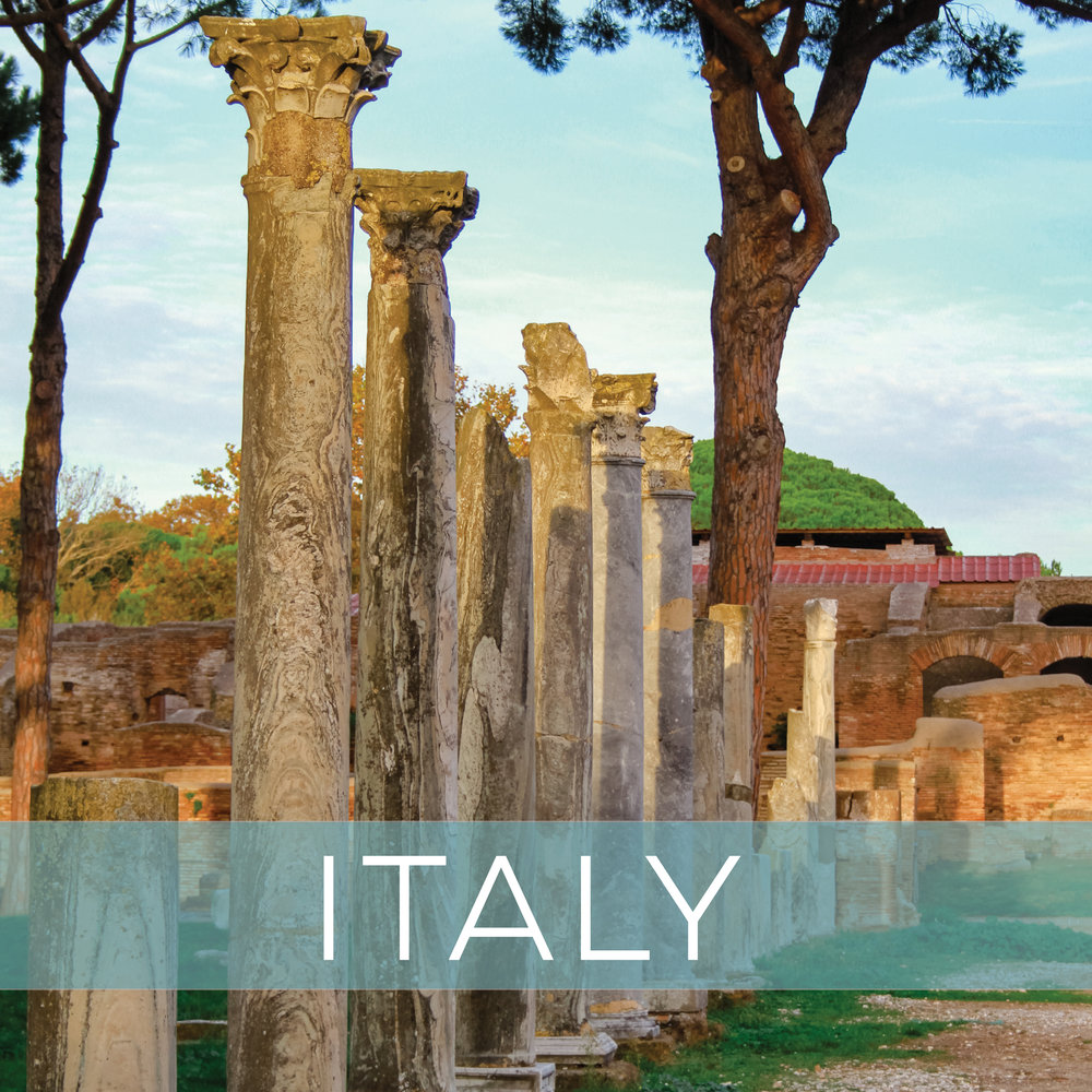 Italian destinations from Milan to Sicily