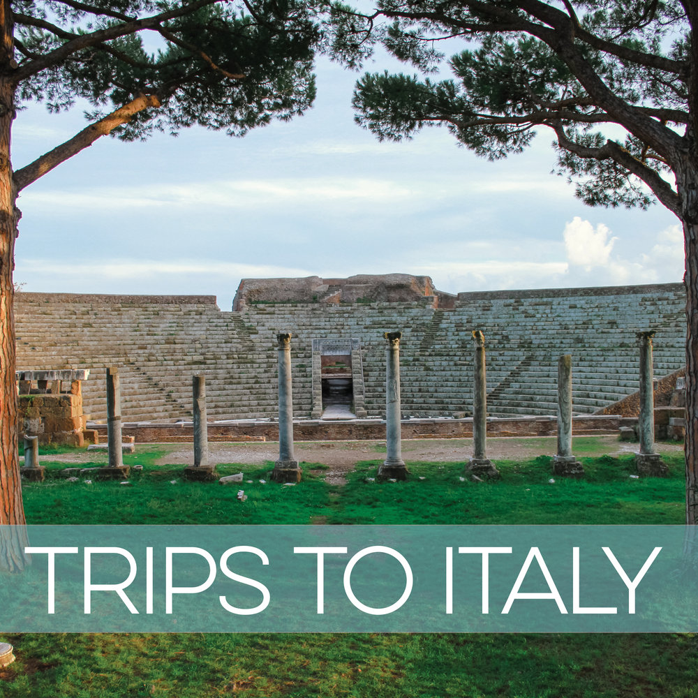 travel to Italy with Angela K. Nickerson