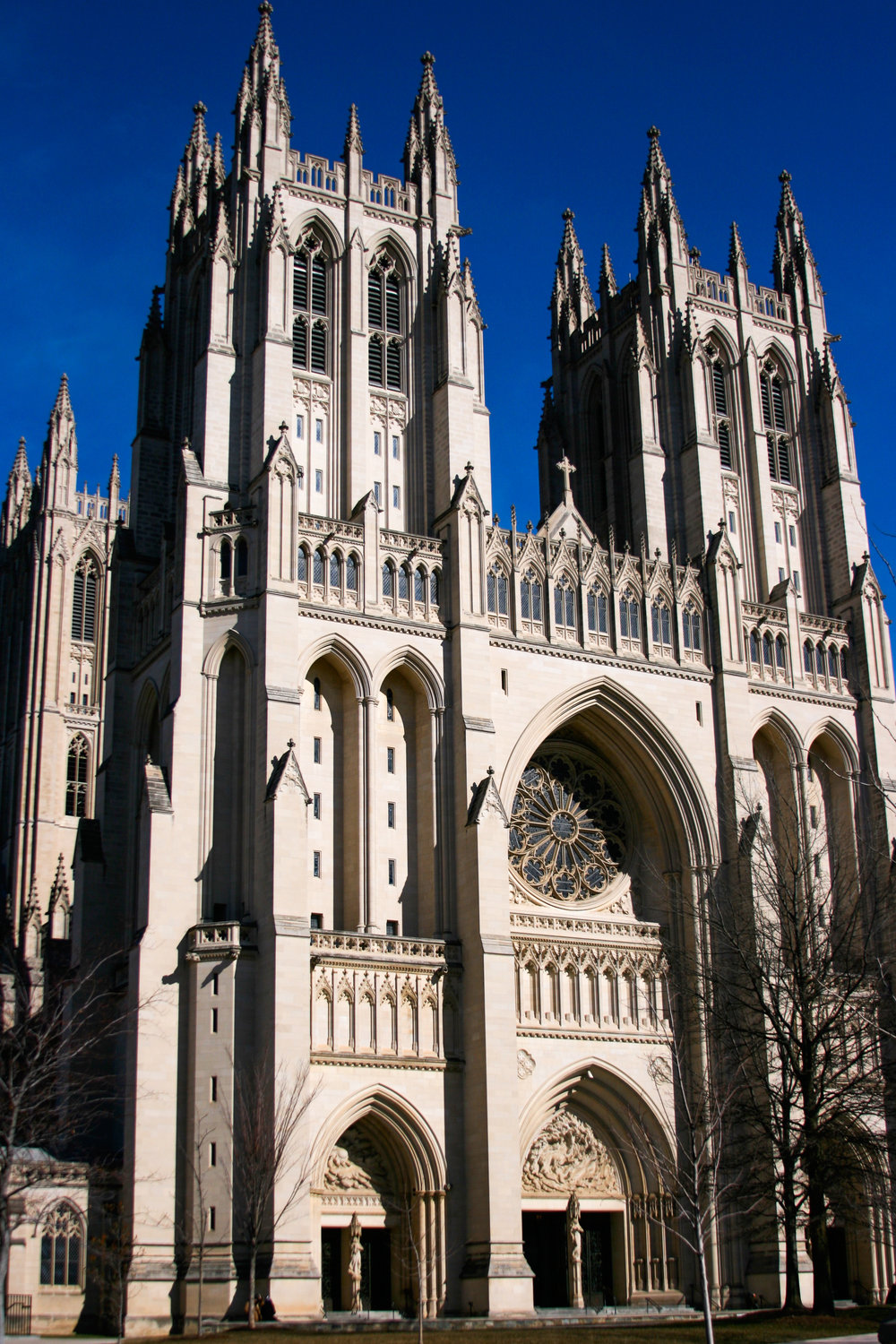 The National Cathedral in Washington D.C.