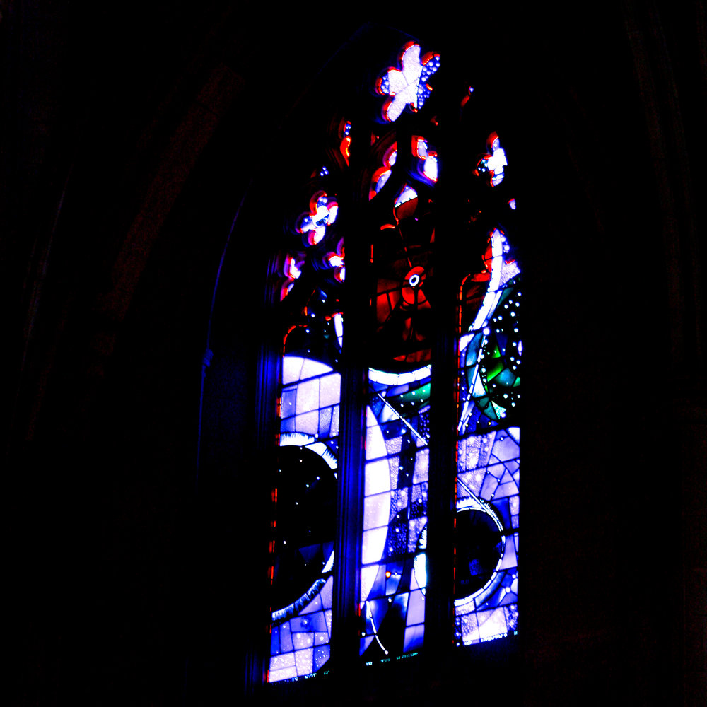 The Space Window at the National Cathedral