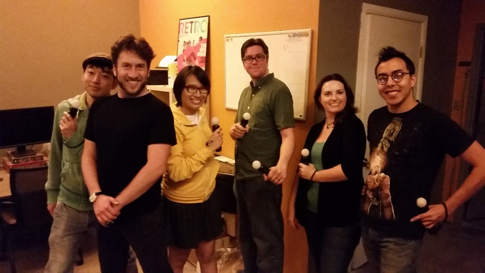 Group shot with the EGREGIOUS EXCEPTION of class-act Erin Dean, who had to scram before we remembered to get a photo.