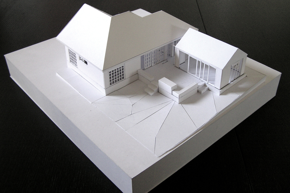 EXPERIMENTAL MAQUETTE OF INTERWAR PERIOD RESIDENCE BALWYN NORTH