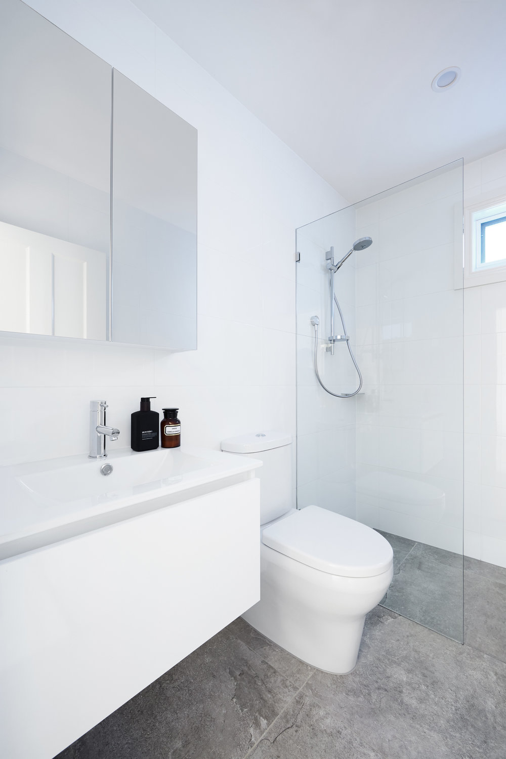 RENOVATED THE EXISTING BATHROOM