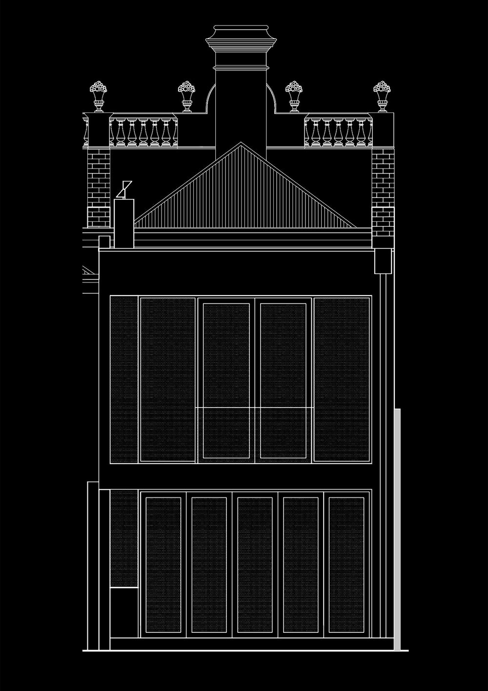 PROPOSED REAR EXTENSION FACADE
