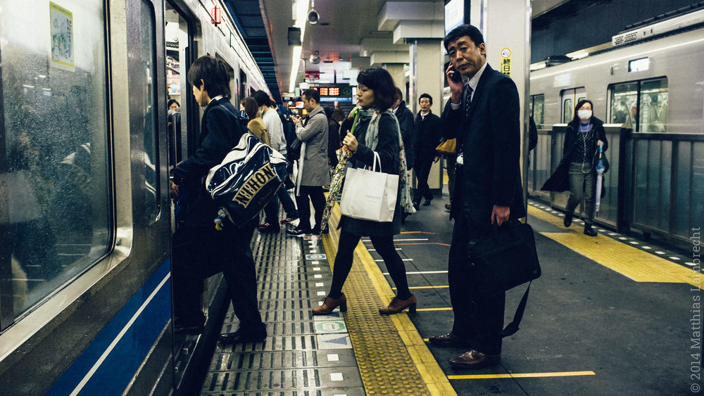 commuters・通る人 (ii)