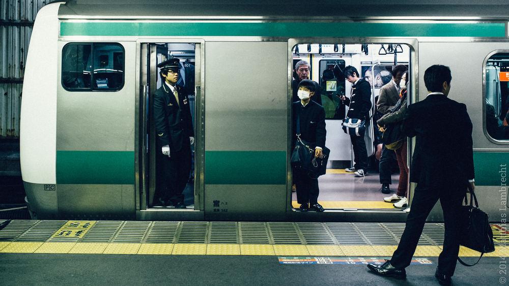 commuters・通る人 (vi)