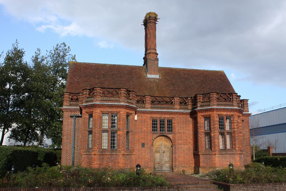 Office building for the Daneshill Brick and Tiles Company, Arch. E. Lutyens