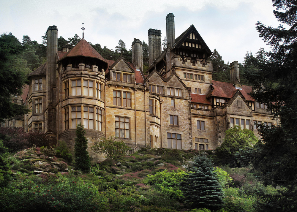 Cragside, Rothbury, Morpeth, Northumberland, Arch. Richard Norman Shaw