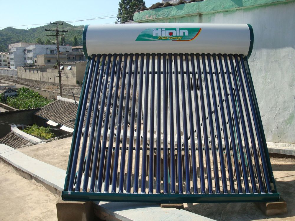 Solar water heaters assembled in country are a low-tech solution to help orphanages and schools improve health and hygiene.
