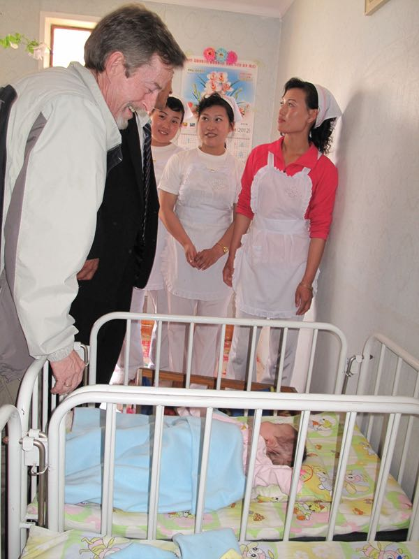 Brian Visits Pyongsong Orphanage
