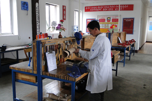 HI has facilitated a prosthetic limb facility in Hamhung, North Korea for many years.
