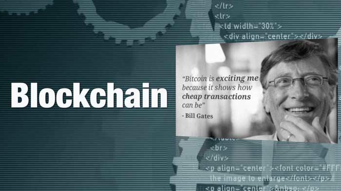 Blockchain-Bill Gates