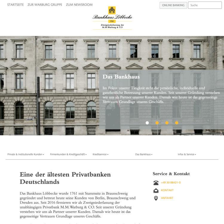 Loebbecke Homepage