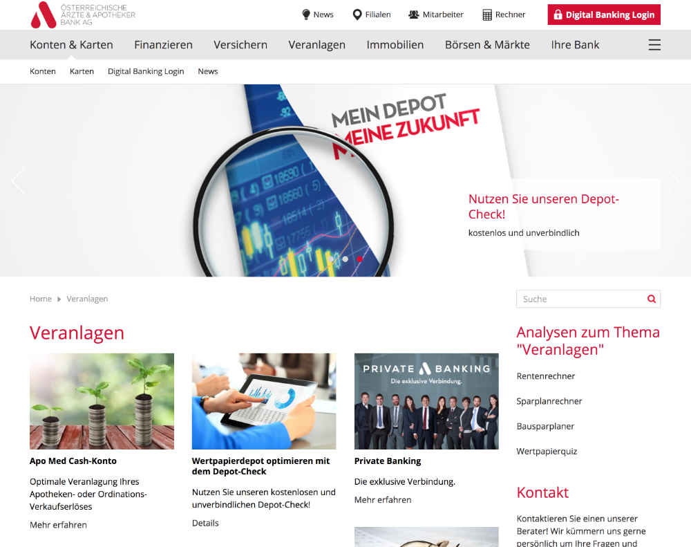 Website-Homepage-Apobank-Wien