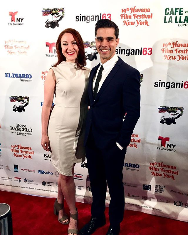 Had a blast cheering on my love @jorgelunadj at the Havana Film Festival - looking forward to the screening of #bx3m tomorrow night!