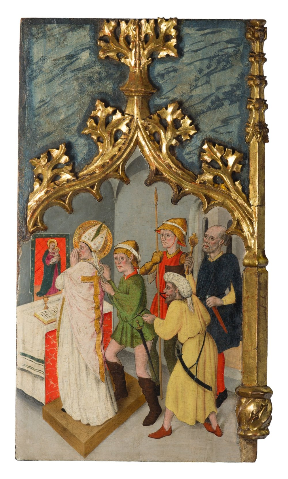 261_Joan Figuera_The retable of The Virgin. Saint Peter Martyr. and Saint Mark_Egg tempera on panel_261 x 249 cm. 102 ¾ x 98 in._thumbnail-1.jpg