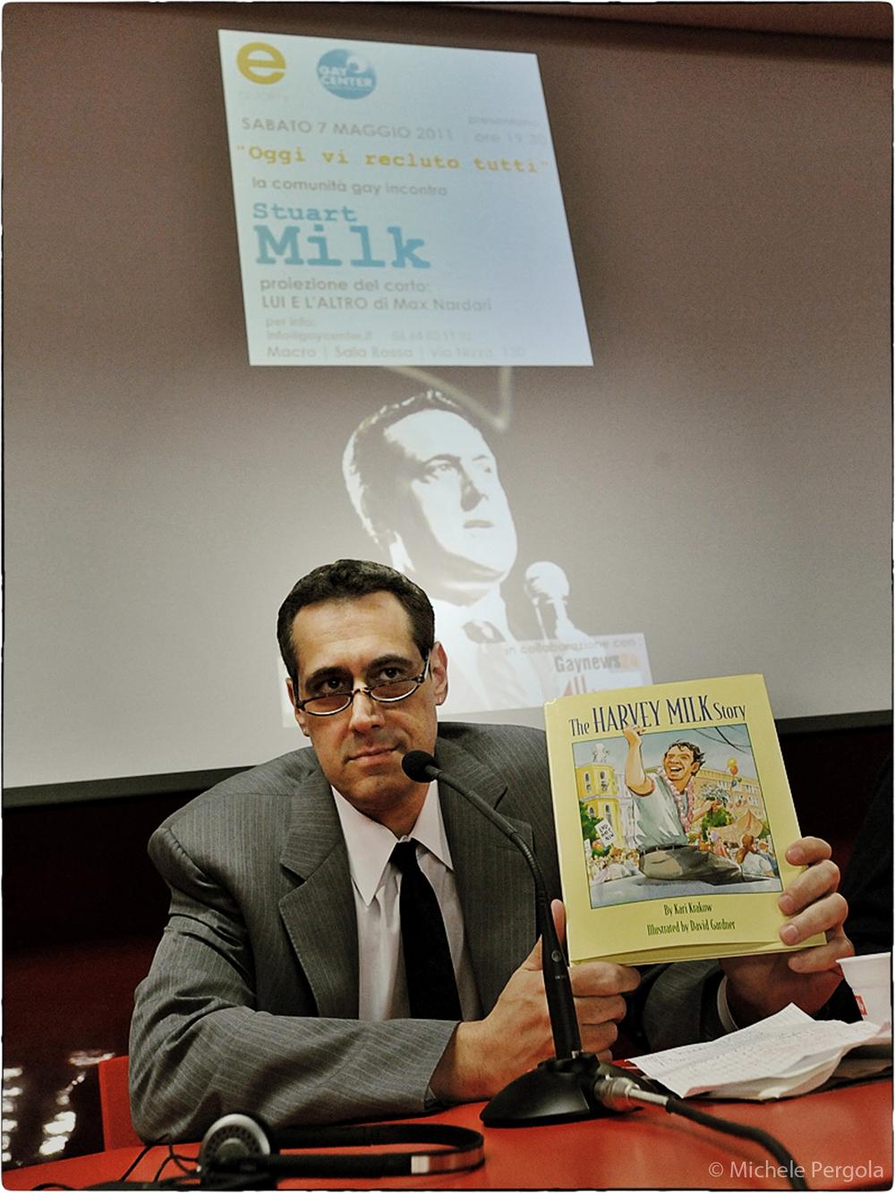 Stuart Milk (Rome, Italy 2011)