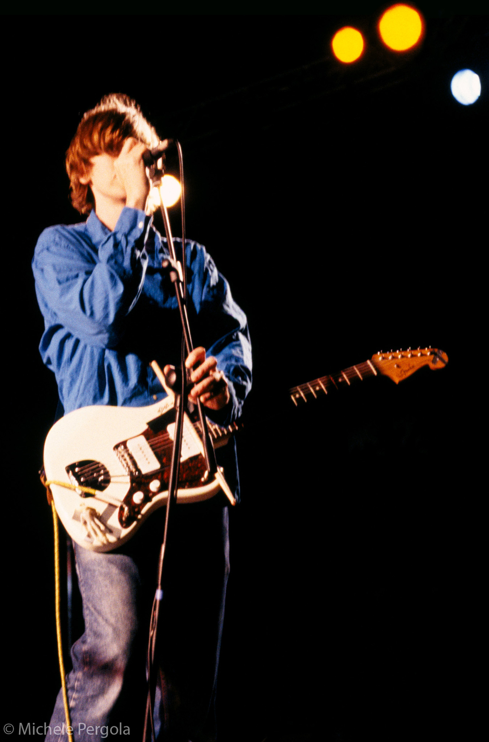 Thurston Moore (Sonic Youth) - Ostia Antica (Rome, Italy) June 18, 2001