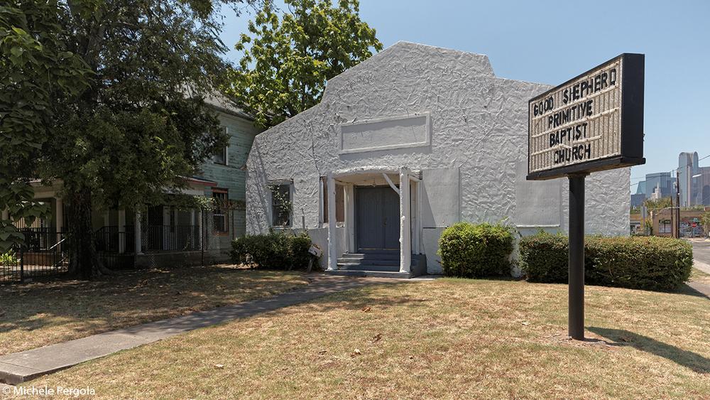 The Good Shepherd Primitive Baptist Church in The Cedars,Dallas (TX, 2015)