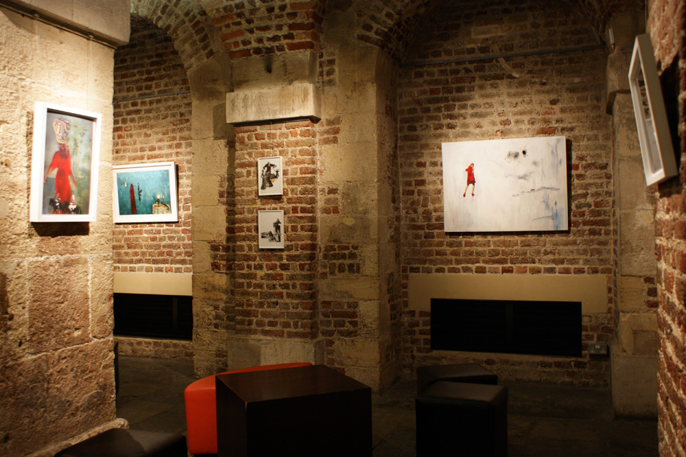Gallery in the Crypt, London