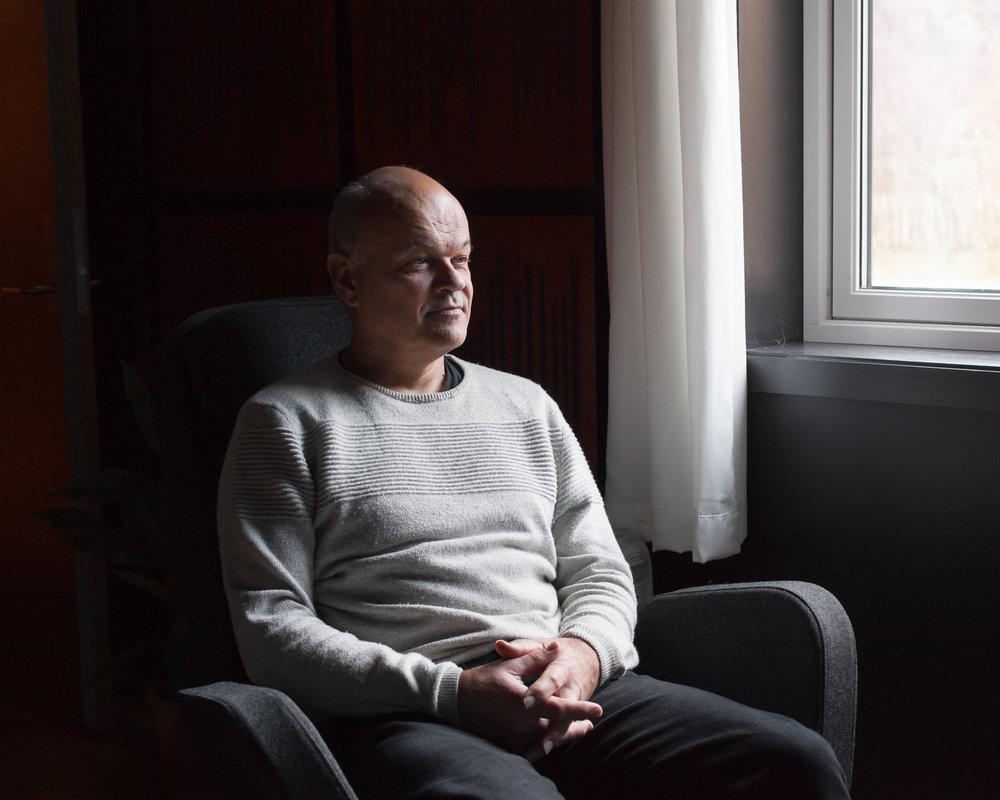 Music producer Tom Karlsrud, 2016.