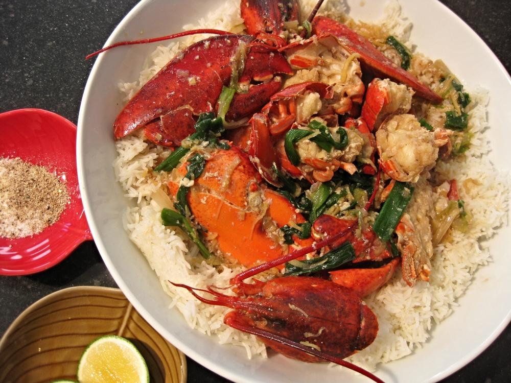 lobster rice
