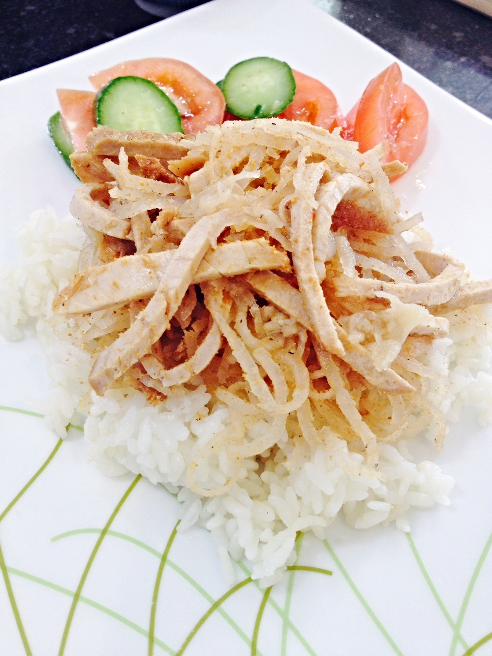 Shredded Pork & Rice (Com Bi)